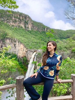 Cachoeira Saltos 120m - Apenas Mirante